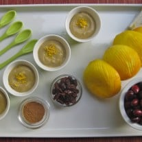 Raw Vegan Spicy Orange Cranberry Mousse
