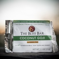 Raw Coconut-Goji Bar