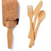 EcoTravel Fork and Knife Set