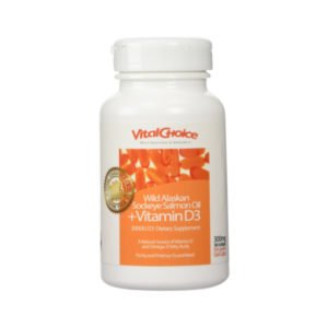 Sport-Certified Omega 3 Wild Salmon Oil Vitamin D3 Softgels