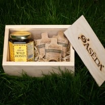 Aseda Wild Raw Honey Box