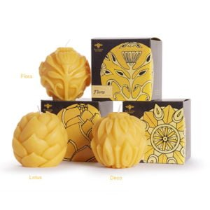 Beeswax Sphere Candle