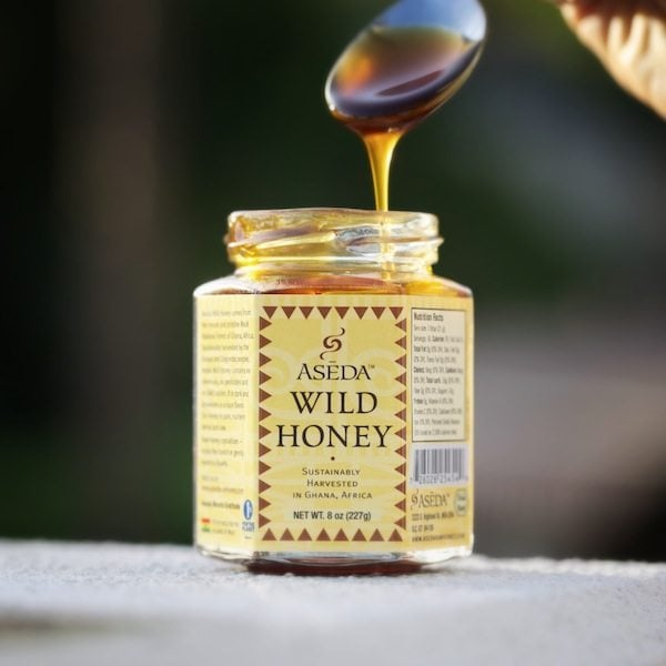 Aseda's Wild Raw African Jar Of Honey (Small)