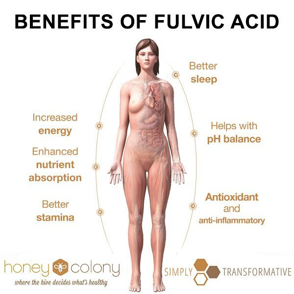 fulvic acid minerals benefits
