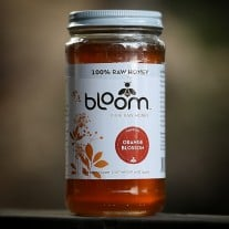 Bloom Raw Orange Blossom Honey