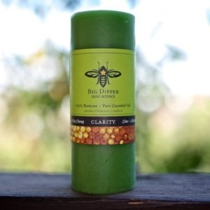 Beeswax Aromatherapy Pillars: Lime May Chang