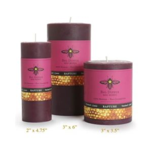 Beeswax Aromatherapy Pillars: Patchouli Cassia