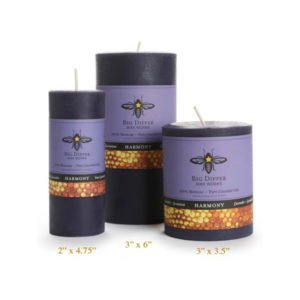 Beeswax Aromatherapy Pillars: Pure Lavender
