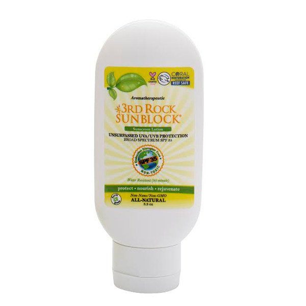 HoneyColonyAmerica's Safest Sunscreen: 3rd Rock SPF 35+