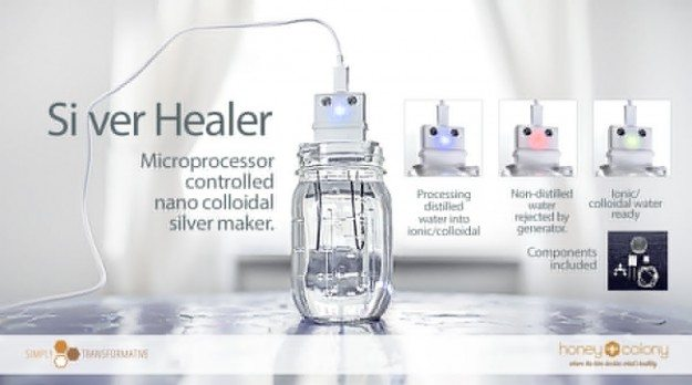 Ionic or Colloidal Silver