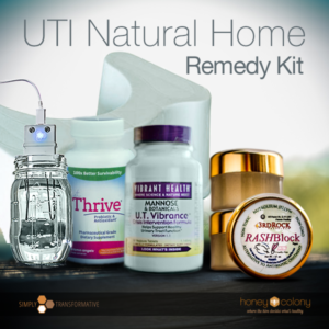 UTI Natural Home Remedy Kit