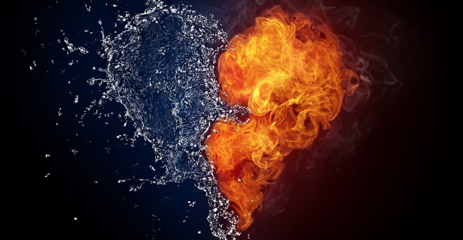 Water-and-Fire-The-Greatest-Love-Wallpaper