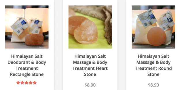 Himalayan Salt Body Bars